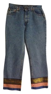 Nooshin France Capri/Cropped Denim-Light Wash