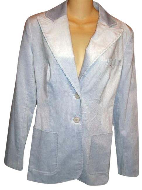 Bloomingdale's Soft Corduroy Pale Tailored To Fit Lavender Blazer