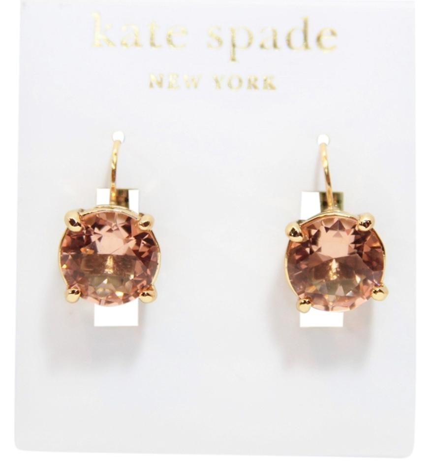Kate Spade Round Leverback Earrings
