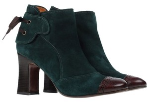 Chie Mihara Suede Emerald Boots