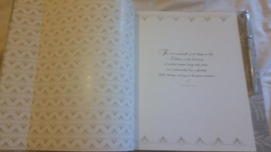 25th Wedding Anniversary Book With Pen