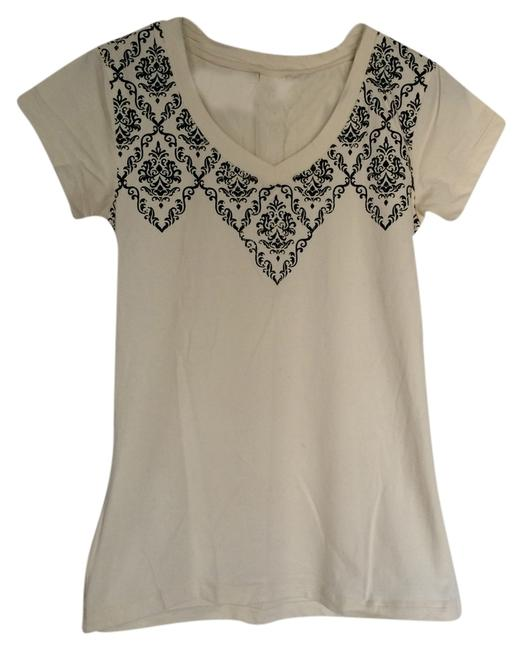Balance Collection by Marika Stretchy Print T Shirt Ivory