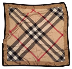 Burberry Silk Giant Exploded Check Scarf New w/ Tag 2456063