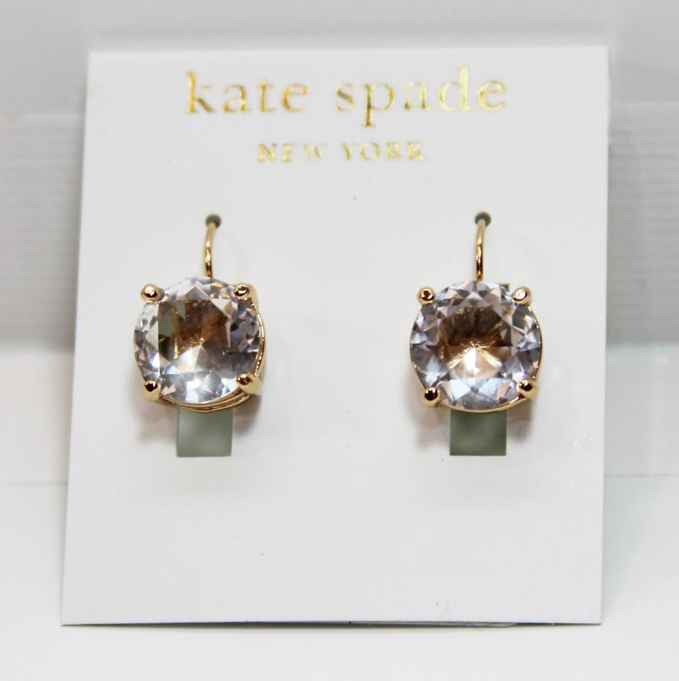 Kate Spade Round Leverback Earrings 12345