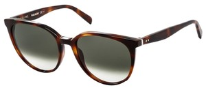 Céline NEW Celine Thin Mary CL 41068/S Brown Oversized Round Sunglasses