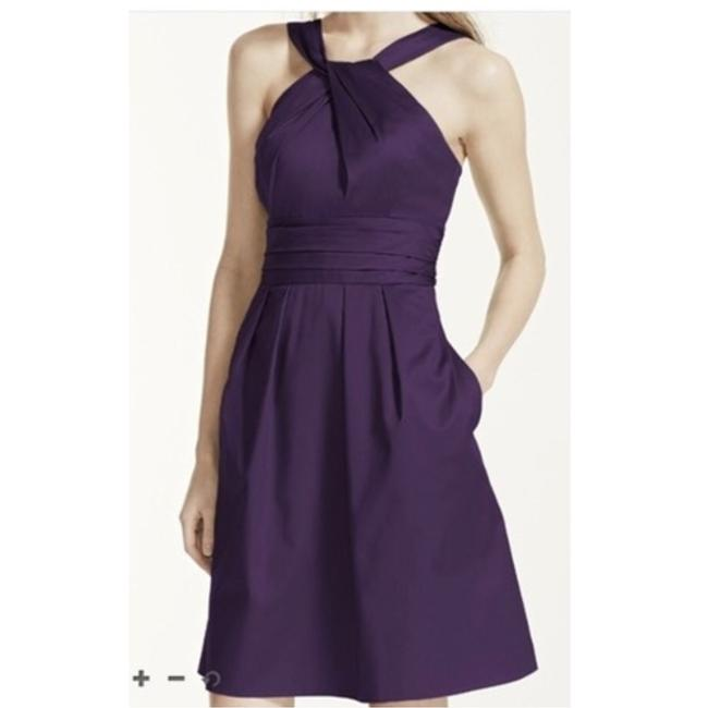 Item - Plum Modern Bridesmaid/Mob Dress Size 6 (S)
