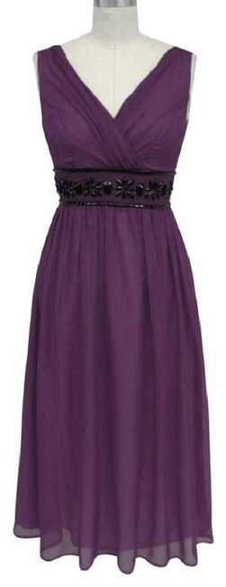 Preload https://img-static.tradesy.com/item/1142077/purple-goddess-beaded-waist-cocktail-formal-dress-night-out-top-size-26-plus-3x-0-1-650-650.jpg