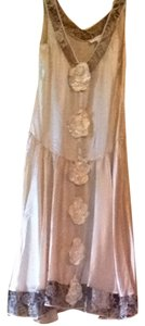 Jill Stuart Silk Pink Rose Dress