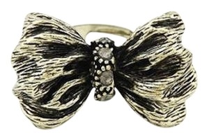 Other New Adjustable Size Antiqued Gold Bow Ring Large J1908