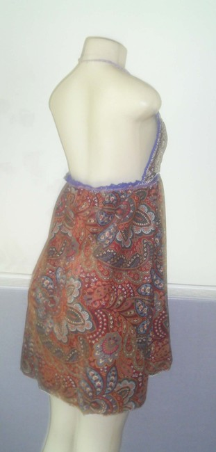 Other short dress Blue gold on Tradesy