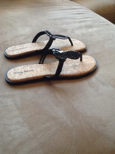 Tommy Bahama Black Sandals