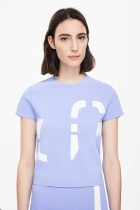 COS T Shirt Blue
