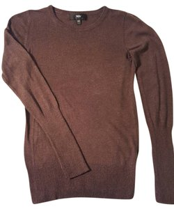 Mossimo Supply Co. Ribbed Sleeves Ribbed Hem Crew Neck Lightweight Sweater
