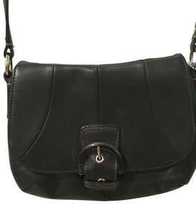 Coach Leather Leather Cross Body Bag