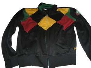 Billabong Black, Red, Yellow, Green Jacket
