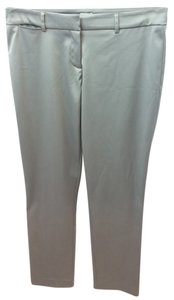Cache Satin Straight Pants GRAY