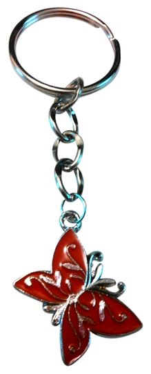 Other red butterfly keychain