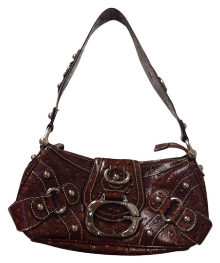Preload https://img-static.tradesy.com/item/1142282/guess-handbag-brown-faux-leather-baguette-0-0-540-540.jpg