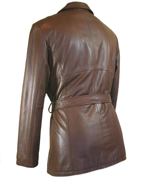 Wilsons Leather Luxury Soft Classic Fall Brown Leather Jacket