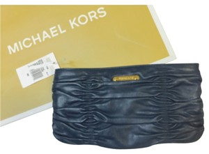 Michael Kors Navy Clutch