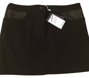 Alexander Wang Mini Skirt black