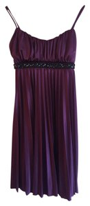 Speechless Pleated Beaded & Sequins Dress