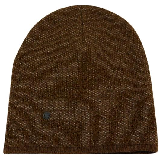 Gucci Gucci Multicolor 352350 Men's Medium Beanie Ski Brown/Beige Hat Image 0