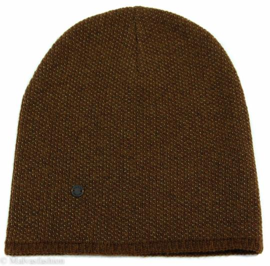 Gucci Gucci Multicolor 352350 Men's Medium Beanie Ski Brown/Beige Hat Image 5