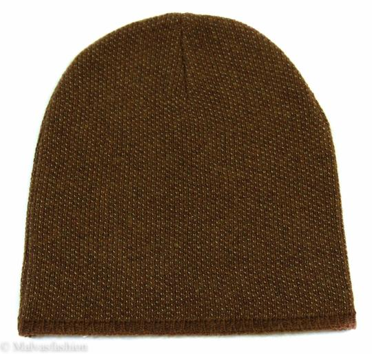 Gucci Gucci Multicolor 352350 Men's Medium Beanie Ski Brown/Beige Hat Image 6