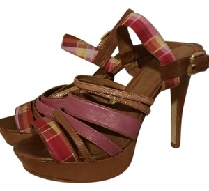 ecc3dd59fc Nine West Platform Multicolored, Pink, Yellow Pumps