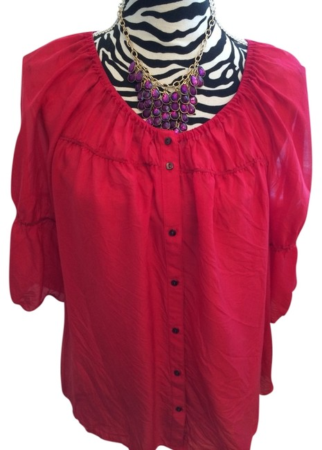 Anthropologie Blouse Size 10 (M) Anthropologie Blouse Size 10 (M) Image 1