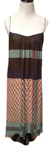 Multi-colored print Maxi Dress by Anthropologie