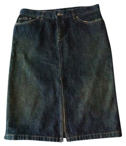 Gucci Skirt Blue Jean