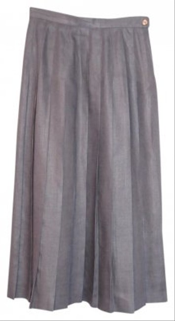 Jones New York Skirt Medium Gray