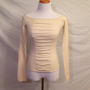 bebe Cashmere Scoopneck Soft Comfortable Sweater