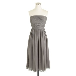J.Crew Graphite (light Grey) Mindy Dress