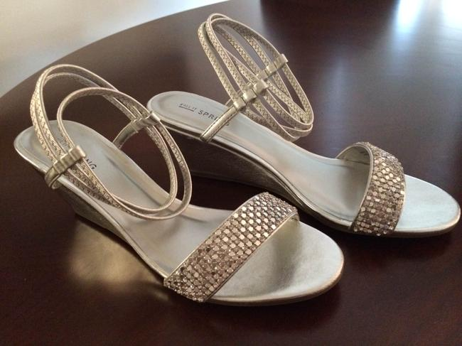 Item - Silver Wedges Size US 7.5