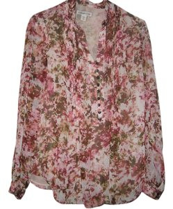 Coldwater Creek Top Pink multi