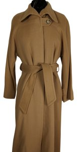 Saks Fifth Avenue Classic Wool Warm Trench Coat