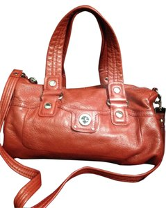 Marc by Marc Jacobs Soft Leather Satchel in Red/orange