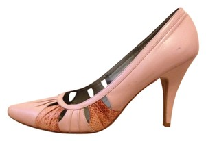 BP. Clothing Vintage Snakeskin Leather pink Pumps