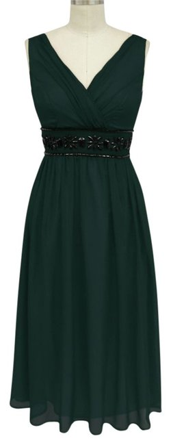Preload https://img-static.tradesy.com/item/114296/dark-green-goddess-beaded-waist-cocktail-sizelarge-mid-length-formal-dress-size-12-l-0-0-650-650.jpg