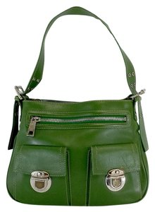 Marc Jacobs Green Leather Shoulder Bag