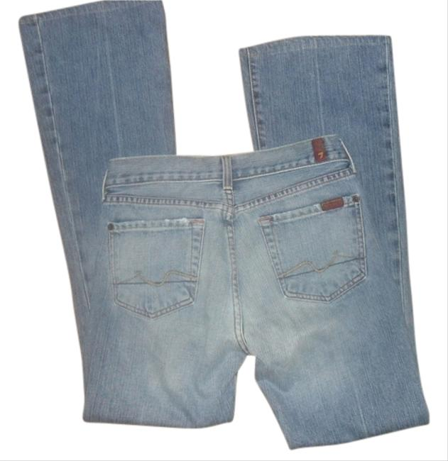 Preload https://img-static.tradesy.com/item/1143154/7-for-all-mankind-blue-light-wash-seven-vintage-faded-denim-boot-cut-jeans-size-26-2-xs-0-0-650-650.jpg