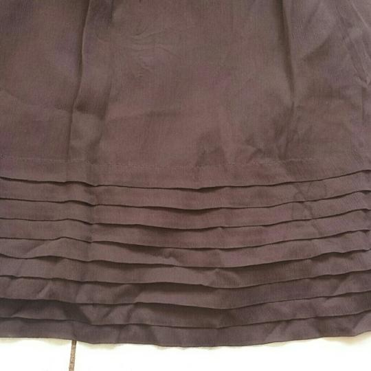 J.Crew Plum Silk Chiffon Juliet Formal Bridesmaid/Mob Dress Size 6 (S)