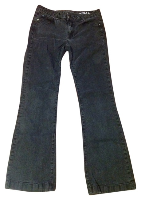 Gap Black 1969 Jeans Womens 30 X 32 Long and Soft Stretch Denim Pants Size 10 (M, 31) Gap Black 1969 Jeans Womens 30 X 32 Long and Soft Stretch Denim Pants Size 10 (M, 31) Image 1