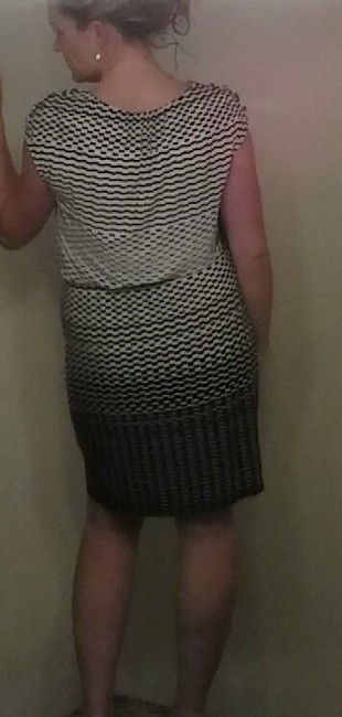 Guess short dress Black & White on Tradesy