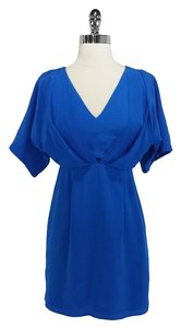 Yumi Kim short dress Blue Silk on Tradesy
