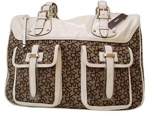 DKNY Satchel in White