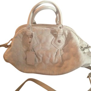 Marc by Marc Jacobs Satchel in Cream White